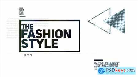 Videohive The Fashion Style Free