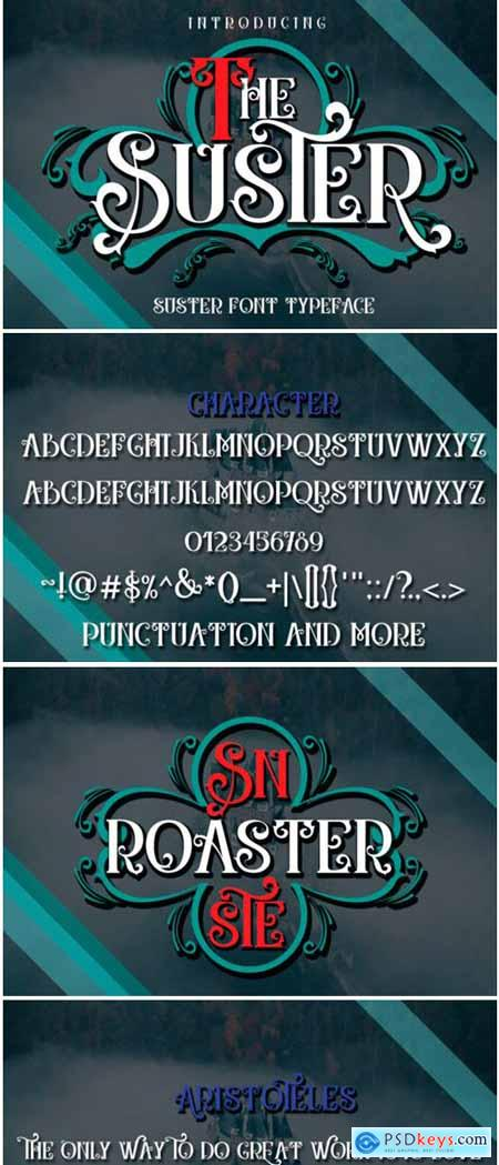 The Suster Font