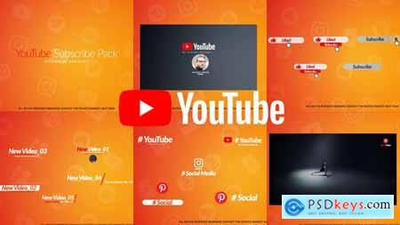 Videohive YouTube Subscribe Pack Free