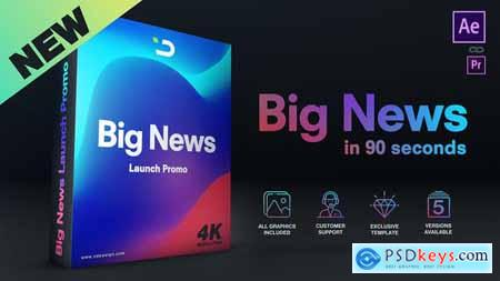 Videohive Big News in 90 Seconds Free