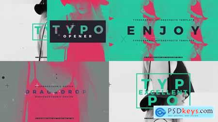 Videohive Typographic Opener