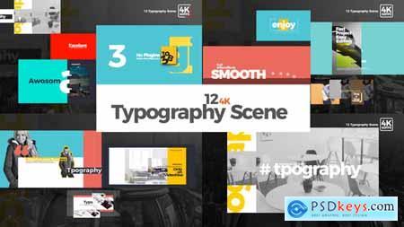 Videohive Typography