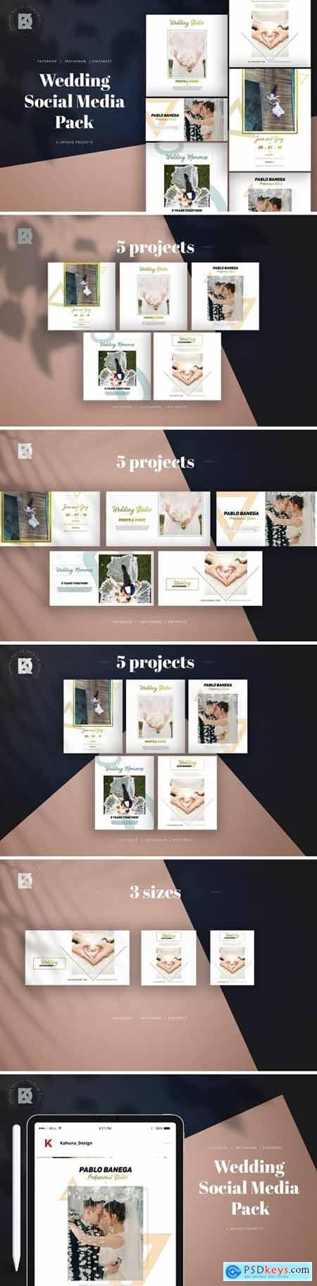 Wedding Social Media Pack