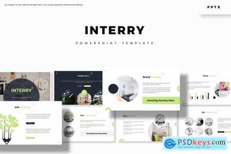 Interry Powerpoint, Keynote and Google Slides Templates
