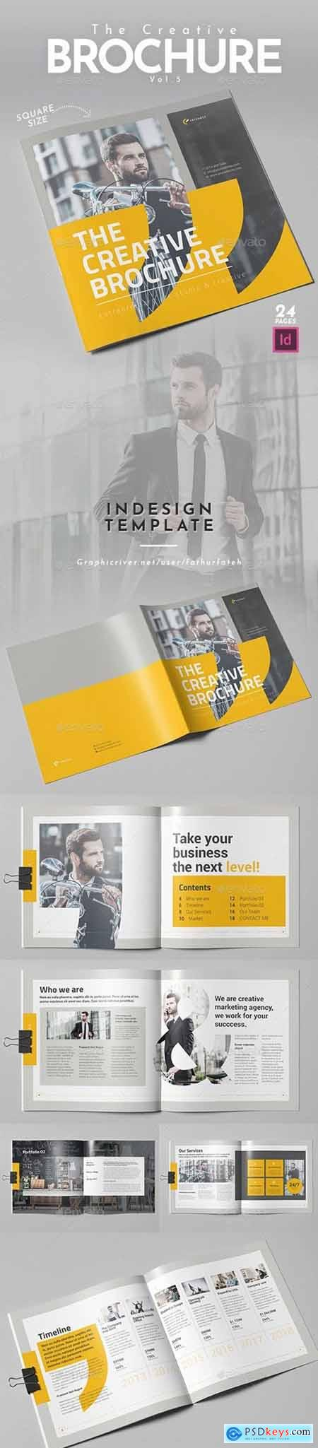 The Creative Brochure Vol.5 - Square
