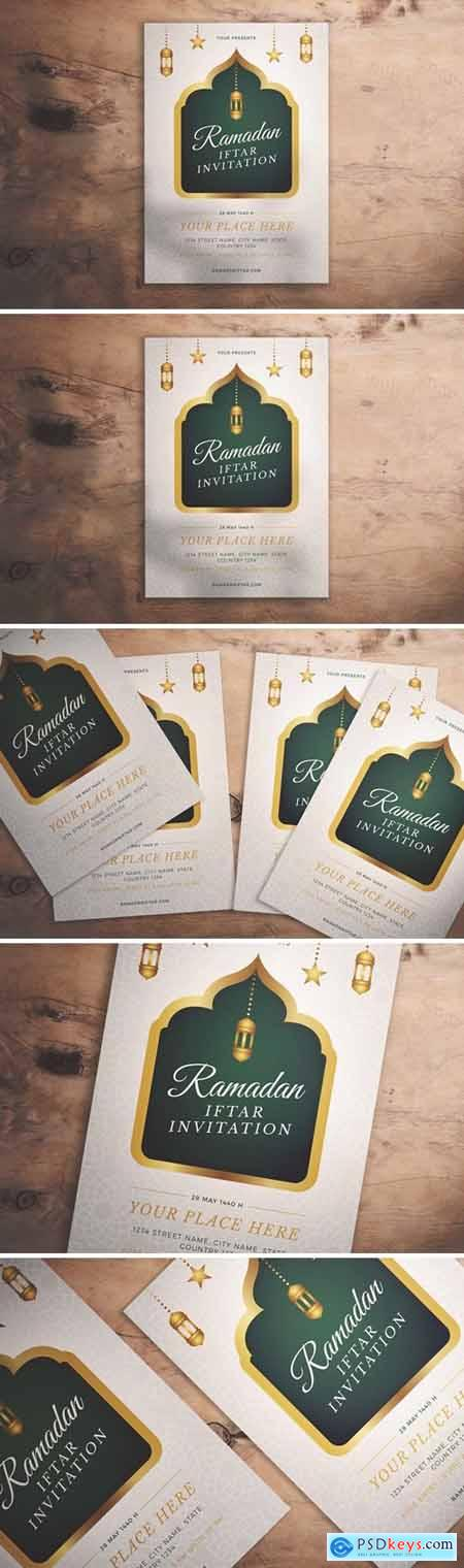 Ramadan Iftar Invitation Flyer
