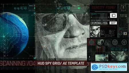 Videohive HUD Spy Grid Free