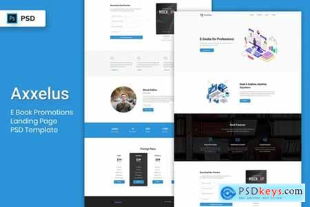 E-Book Promotion - Landing Page PSD Template-02