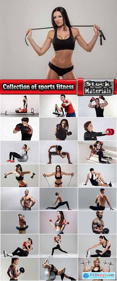 Collection of sports fitness exercise body workout sport equipment 25 HQ Jpeg