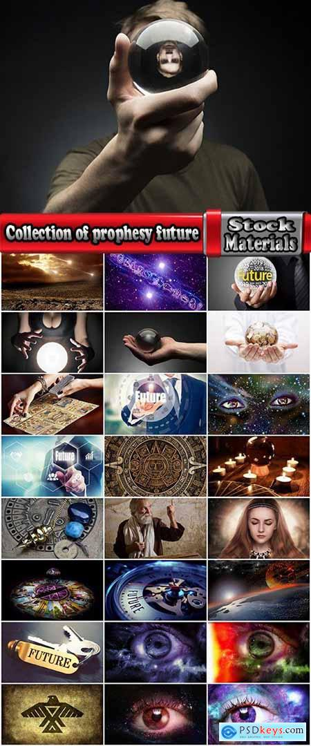 Collection of prophesy future disasters success divination conceptual illustration 25 HQ Jpeg