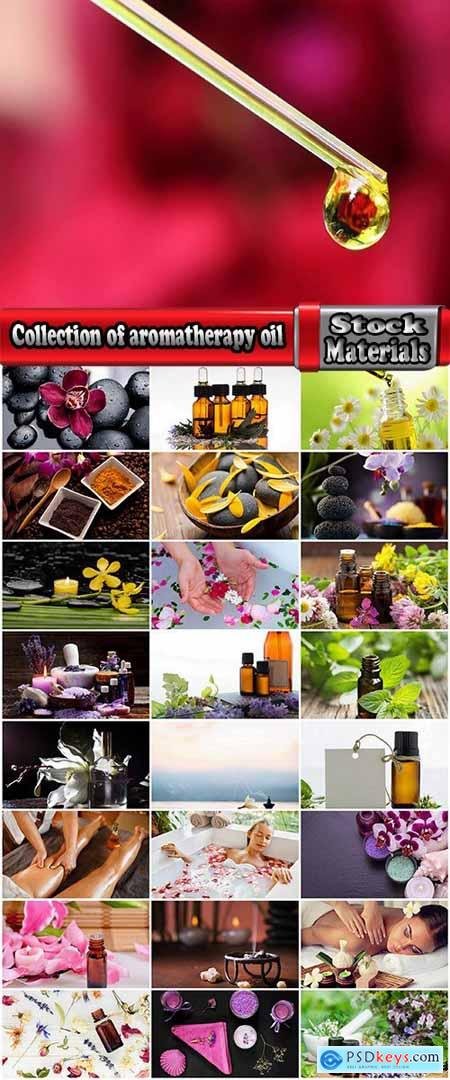 Collection of aromatherapy oil massage meditation odor of good smell vacation 25 HQ Jpeg