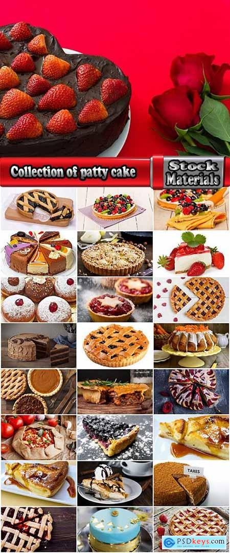 Collection of patty cake confection sweet cupcake pie 25 HQ Jpeg