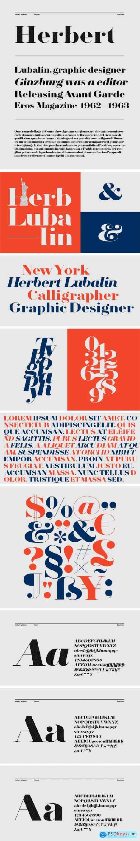 Herbert Typeface
