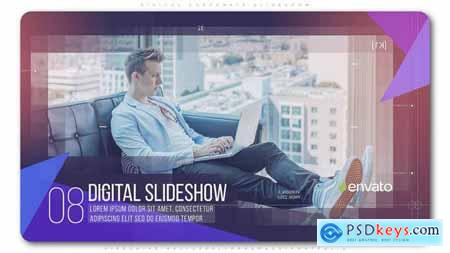 Videohive Digital Corporate Slideshow Free