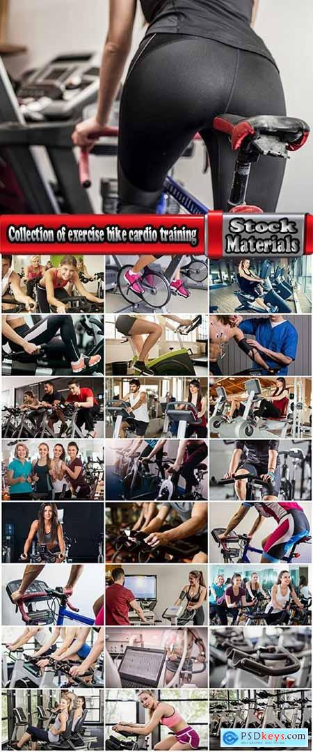 Collection of exercise bike cardio training gym exercise machine 25 HQ Jpeg