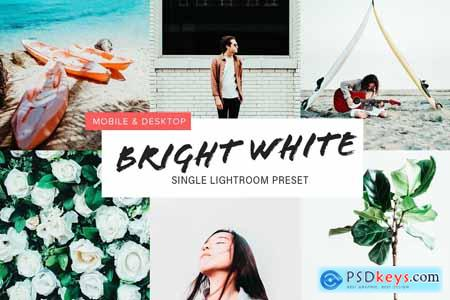 Bright White Lightroom Preset