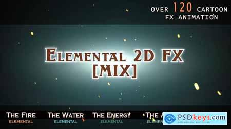 Videohive Elemental 2D FX [MIX] 14292431 V2 Free Download After Effects Projects