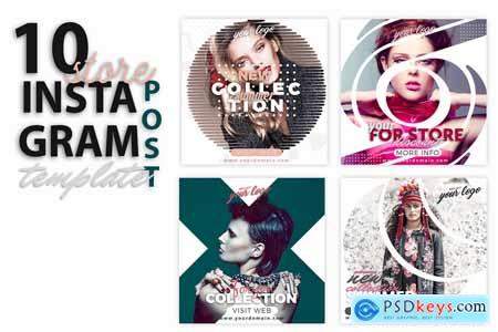 instagram Post Template-Store