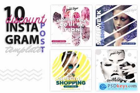 instagram Post Template-Shop