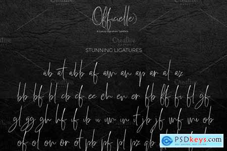 Officielle Lovely Signature Font