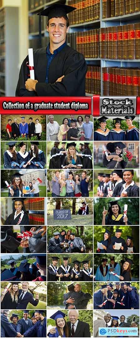 Collection of a graduate student diploma education university education 25 HQ Jpeg