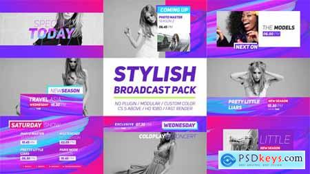 Videohive Stylish Broadcast Pack Free
