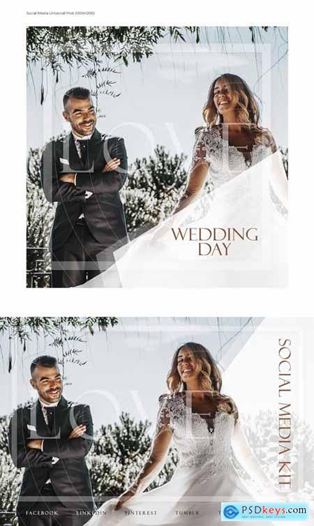 Wedding Day Social Media Kit