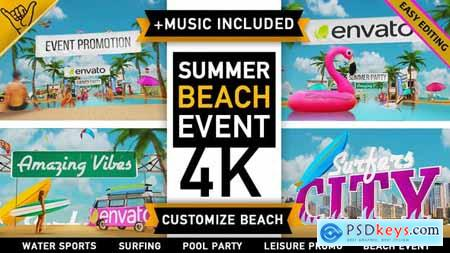 Videohive Summer Beach - Holiday Resort Party Event Free