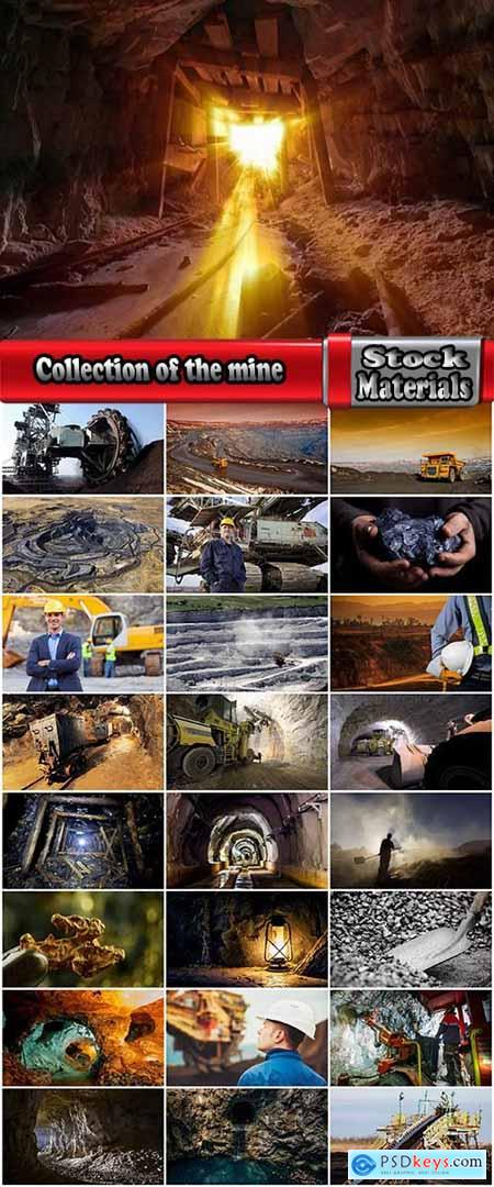 Collection of the mine quarry mining and construction trolley coal ore 25 HQ Jpeg