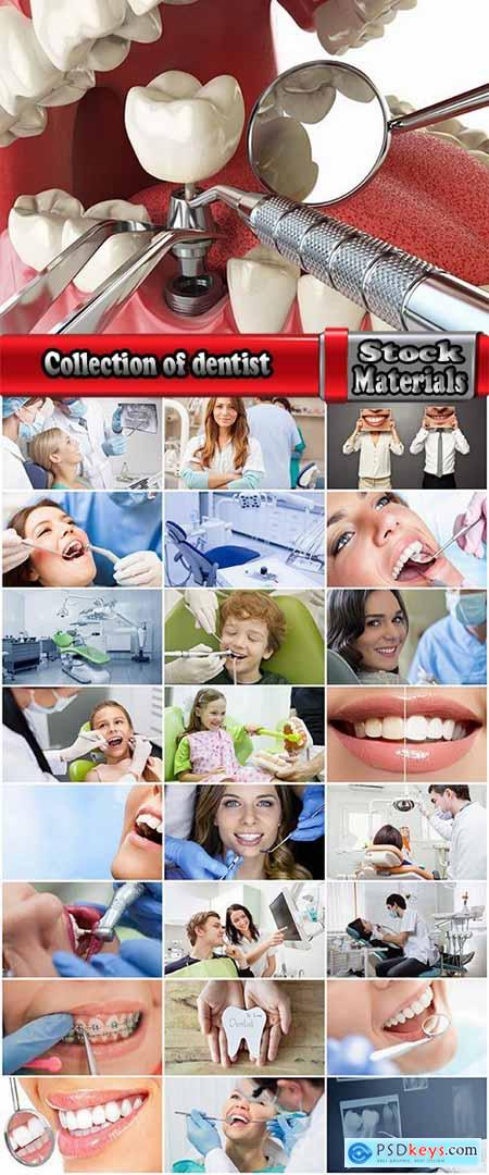 Collection of dentist smile tooth health prevention of oral cavity 25 HQ Jpeg