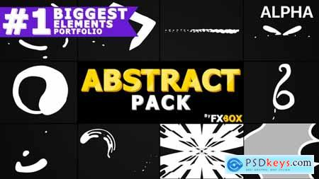 Videohive Cartoon Abstract Elements Motion Graphics Pack