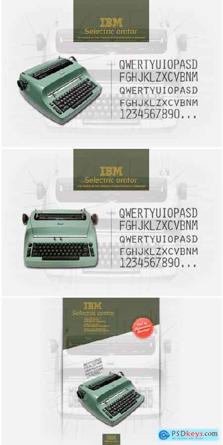 IBM Selectric Orator Font