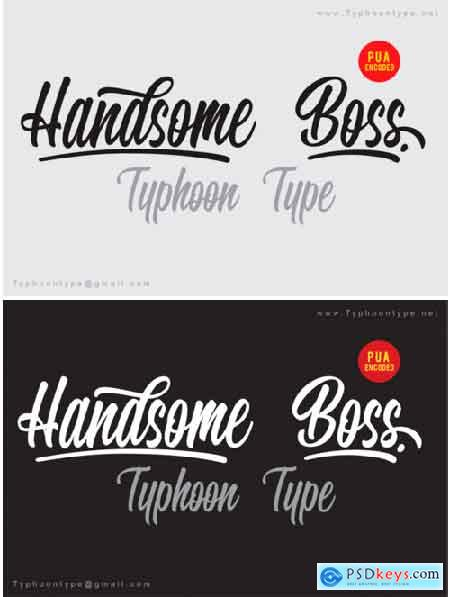 Handsome Boss Font