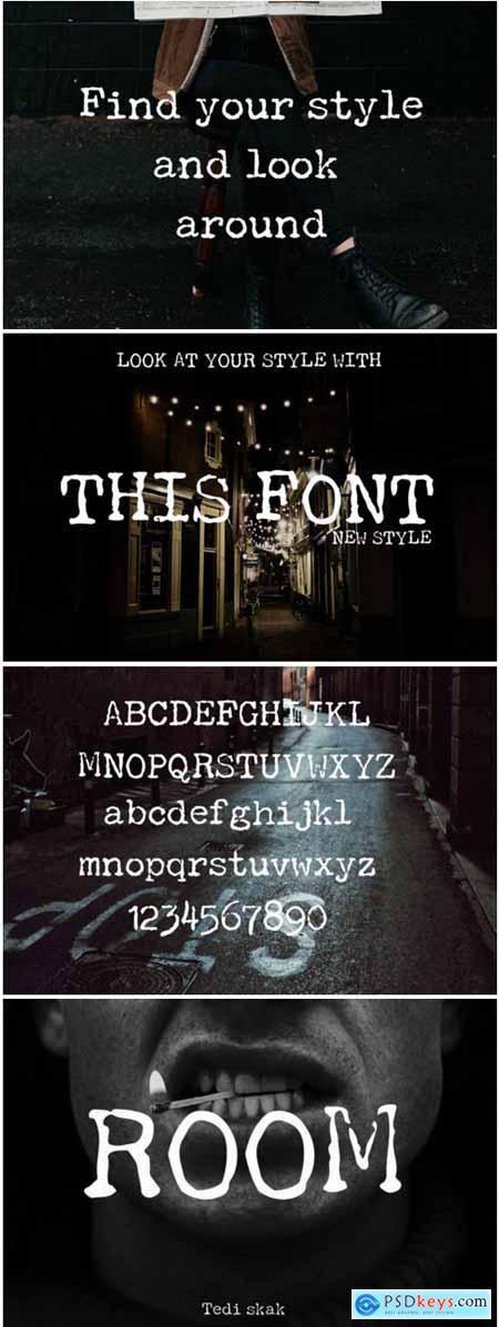 Room Font