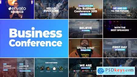 Videohive Business Conference Promo Free