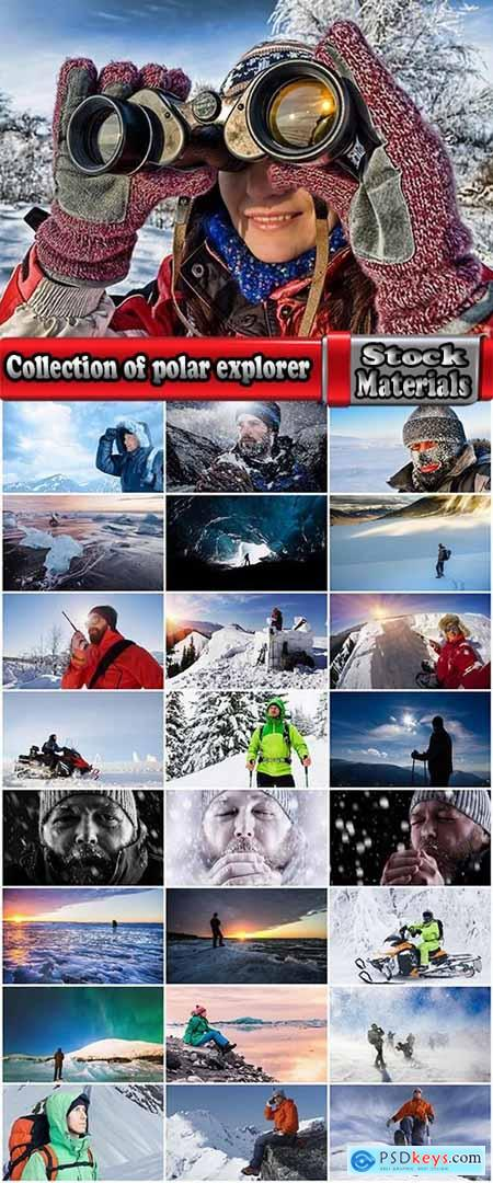 Collection of polar explorer journey snowy desert discoverer 25 HQ Jpeg