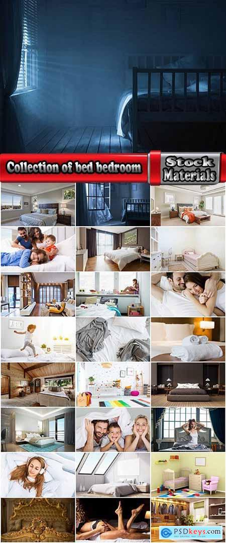 Collection of bed rest pillow quilt people interior bedroom 25 HQ Jpeg
