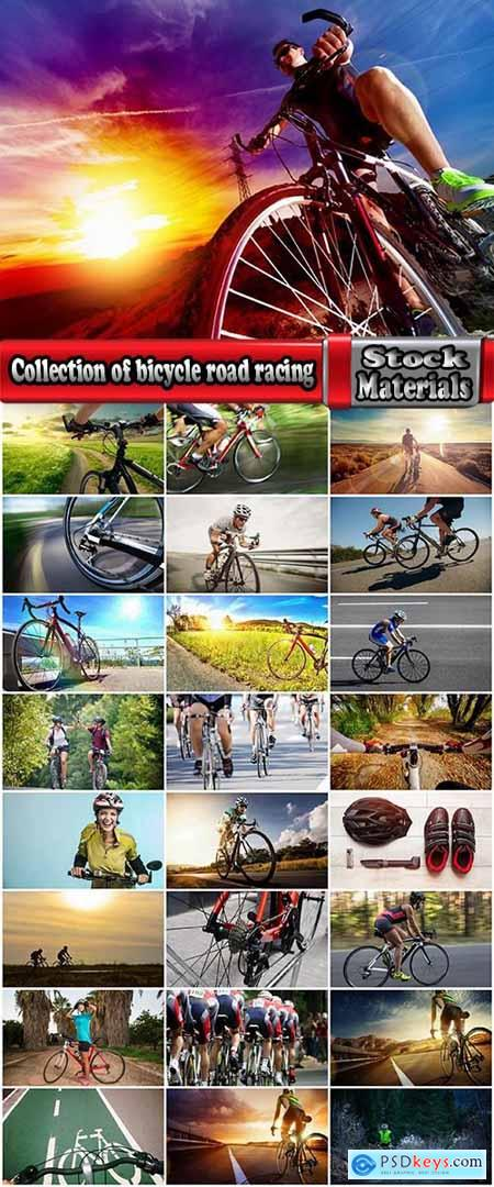 Collection of bicycle road racing track asphalt road race bike wheel 25 HQ jpeg