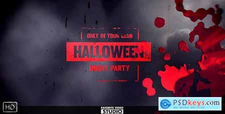 Videohive Halloween Horror Opener Free