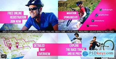 Videohive Cycling Marathon Broadcast Design Free