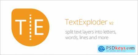 TextExploder V2 AE Script