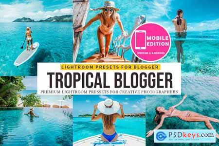 Tropical blogger Lightroom Presets