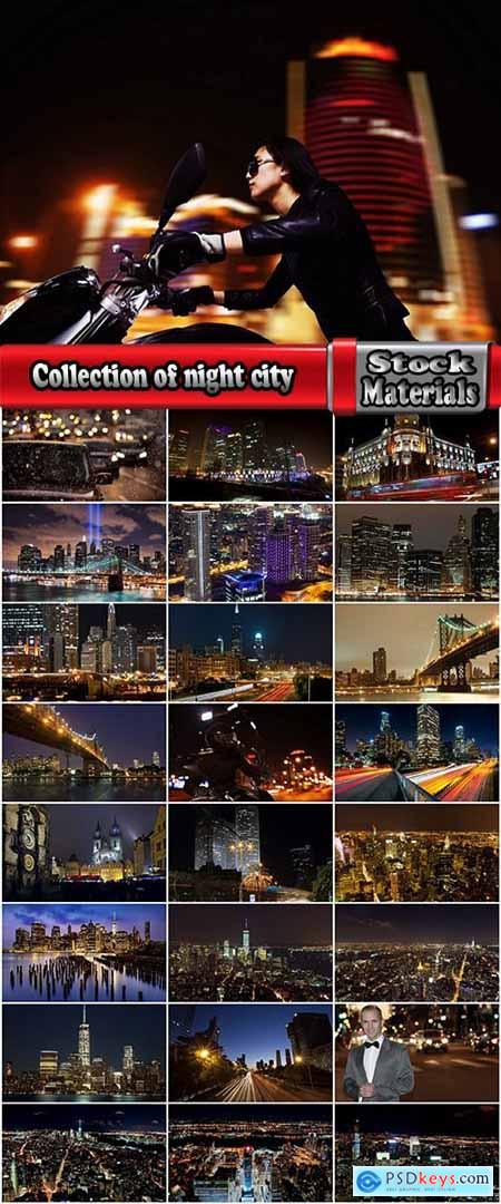 Collection of night city urban night life light lights road skyscraper metropolis 25 HQ Jpeg