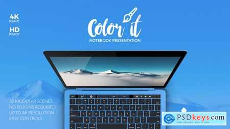 Videohive Color it Notebook Presentation Free