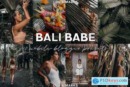 Bali Babe Blogger Lightroom Presets