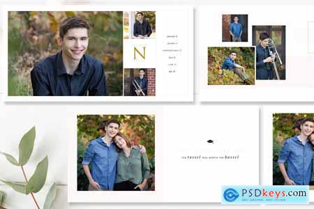 Graduation Photo Album Template