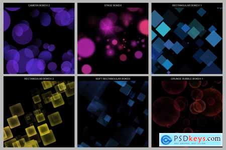 30 Bokeh Photoshop Brushes