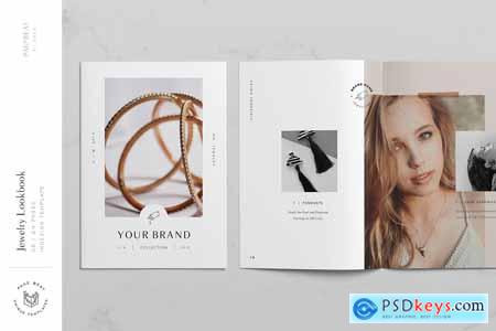 A5 Jewelry Fashion Lookbook