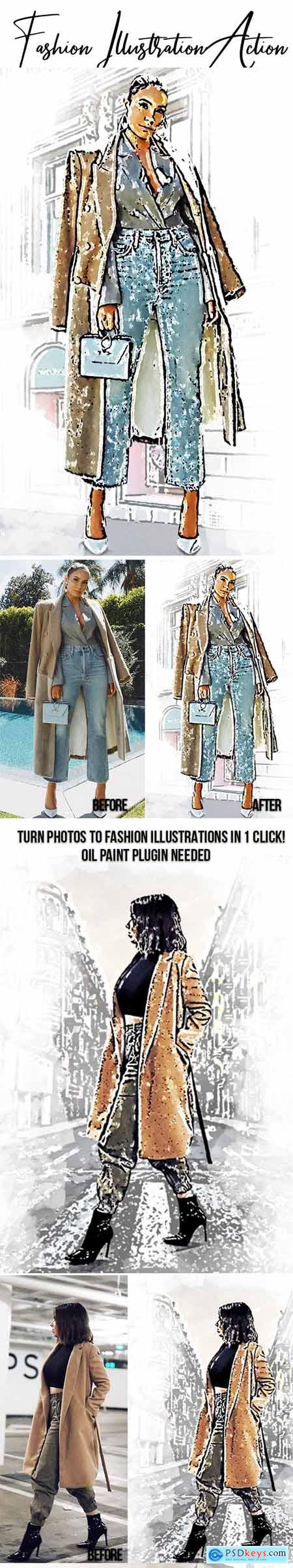 Fashion Illustration Effect