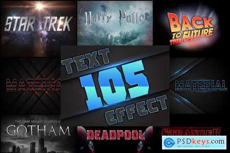 105 Professional Text Effects